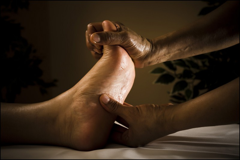 ANTI-STRESS MASSAGE OF THE FEET